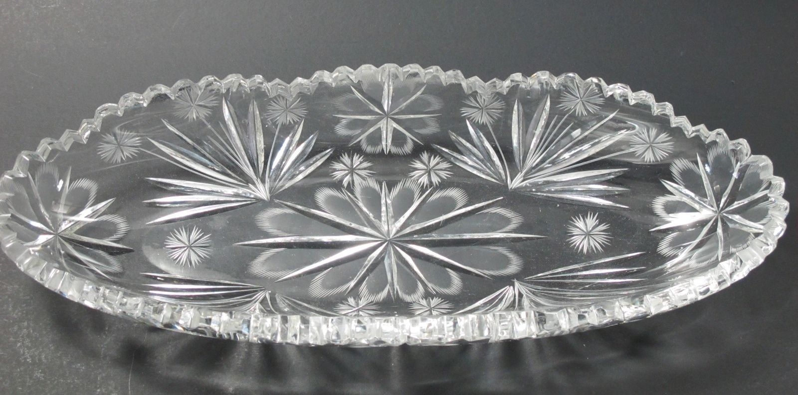 Primary image for American Brilliant Period hand Cut Glass celery