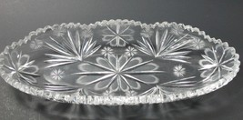 American Brilliant Period hand Cut Glass celery  - $59.49