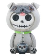 SUMMIT COLLECTION Furrybones Pugsly Signature Skeleton in Pug Dog Costum... - £6.15 GBP
