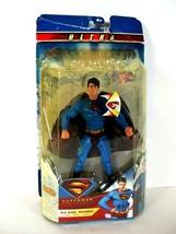 Ultra Superman Returns 2006 Heat Vision Mattel Superman Action Figure NEW - $49.99