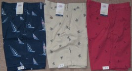 NEW Mens IZOD Saltwater Beachtown Relaxed Classics Casual Shorts MSRP $60 - $25.00