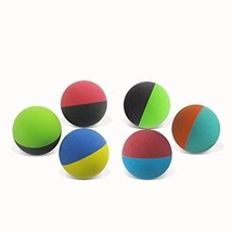 KEVENZ 6-Pack Rubber Dog Fetch Balls,Pet Toy Durable Bouncy Balls No To... - $24.14
