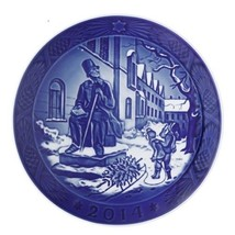 New In Box 2014 Royal Copenhagen Christmas Plate Rc Free Shipping Msrp $105 - $84.00