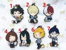 Anime My Hero Academia Boku no Hero Akademia Keychain Rubber Strap Todoroki - $3.94+