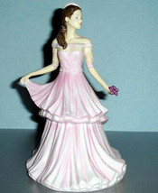 Royal Doulton MICHELLE Pretty Ladies Figurine in Pink Gown HN 5620 New I... - $228.90