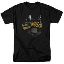 Army Of Darkness Klaatu Barada Nikto Retro 80s Horror Graphic T-shirt MGM198 image 3