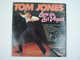 Tom Jones – Live In Las Vegas Vinyl LP Record Album PAS 71031 - $9.89