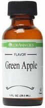 2 Pack-LorAnn Green Apple Super Strength Flavor Oil,1 oz Bottles - $19.36