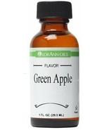 2 Pack-LorAnn Green Apple Super Strength Flavor Oil,1 oz Bottles - $19.36