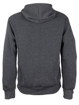 Men's Cotton Blend Zip Up Drawstring Fleece Lined Sport Gym Sweater Hoodie image 5