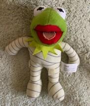 "Disney Muppets KERMIT THE FROG Halloween Mummy 7"" Plush Stuffed Animal Toy - $9.28"