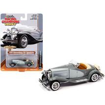 1935 Duesenberg SSJ Speedster Dark Gray and Light Gray 1/64 Diecast Model Car... - $19.62