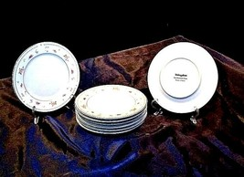 Abingdon Fine Porcelain China Dessert Plates Made in Japan AA18 - 1152-C Vintage image 2