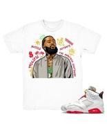 Air Jordan 6 Hare shirt | Nipsey Forever Fly - Retro 6 Hare 2020 100% Cotton NEW - $18.99 - $27.99