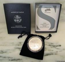 2006-W BU American Silver Eagle in OGP w/ Papers AJ950 - $53.12