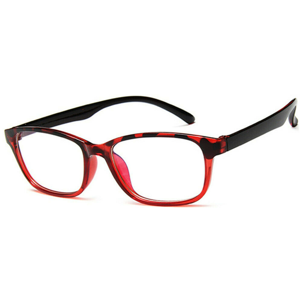 New Fashion Nerd Style Clear Lens Glasses Frame Retro Casual Daily Eyewear image 9