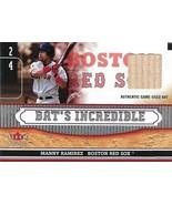 Manny Ramirez Fleer Genuine 2002 #NNO Bat's Incedible Game Used Boston R... - $4.50
