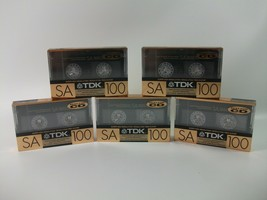 Set of 6 New Sealed Denon Sport 100  Cassettes Tapes Type II Made In Japan