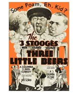 The Three Stooges 24 x 35 Reprint Movie Poster The Three Little Beers - ... - $65.00