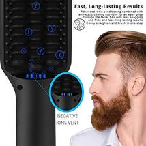 Beard Straightener, MASWATER - Second Generation Beard Straightening Brush with  image 9