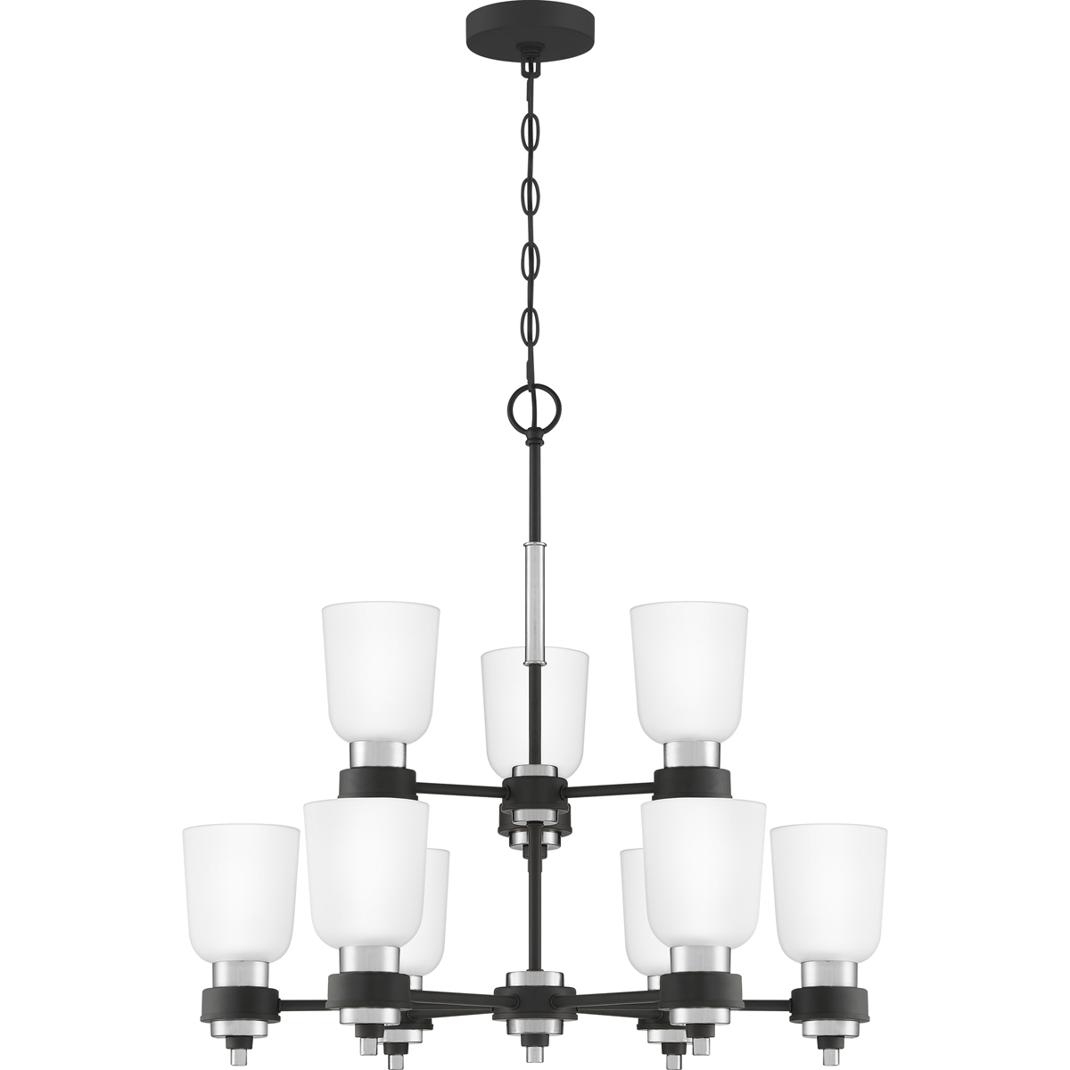 Primary image for Conrad 9-Light Chandelier in Brushed Nickel