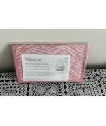 Brand New 2011 Pampered Chef Pink Zebra Coupon Organizer Holder PR27 4 I... - $10.49