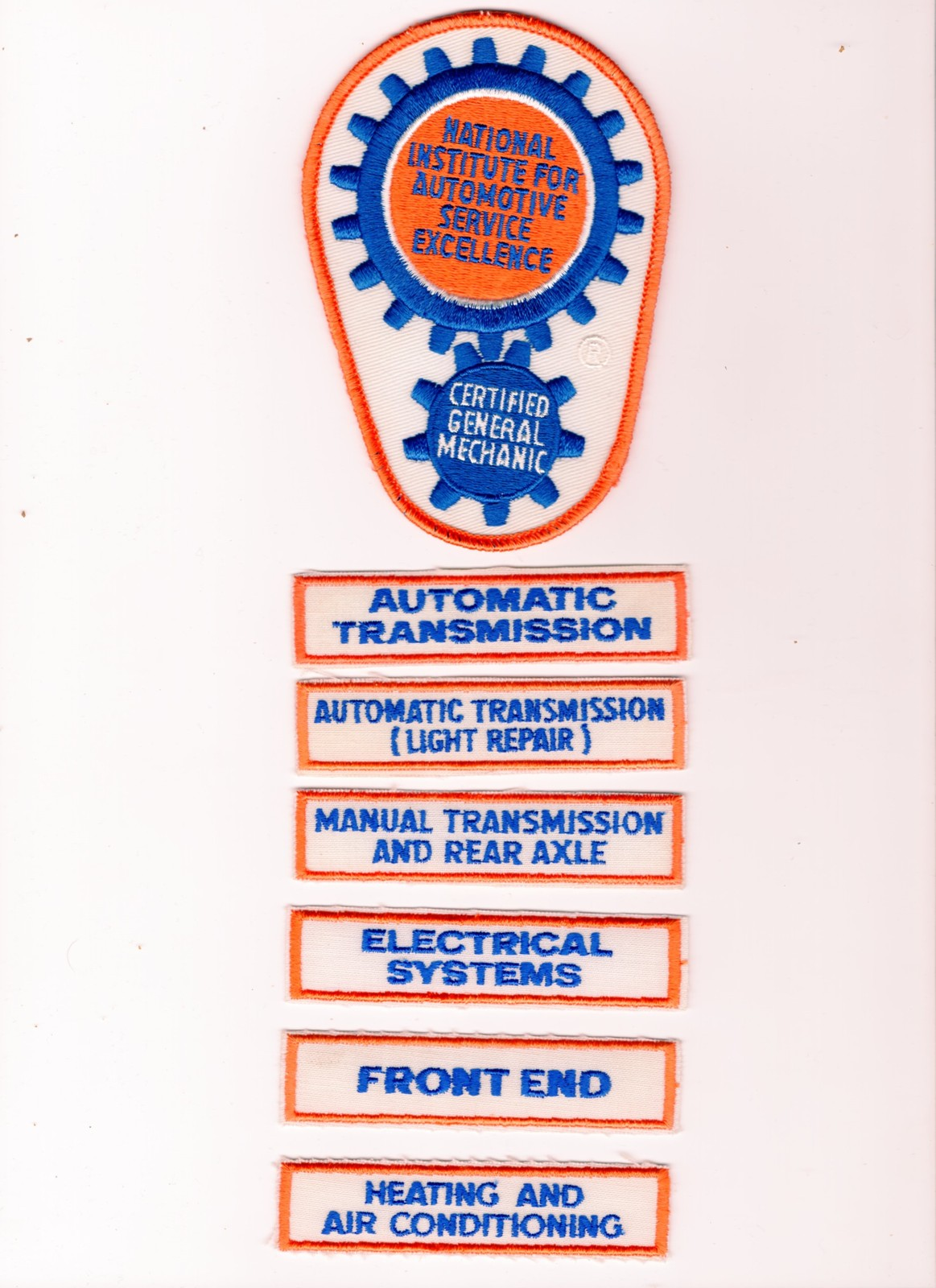 ase patch excellence automotive institute national patches pre tnt deals