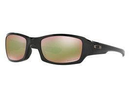 Nuovo Oakley Fives Squared Polished Black W/Prisma Shallow H2O Polarizzati - $191.04