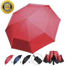 Prodigen Inverted Folding Umbrella Travel Umbrella Windproof Compact Umb... - $20.86
