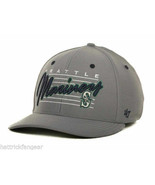 Seattle Mariners 47 Brand MLB Baseball Fisson Stretch Fit Cap Hat Size L/XL - $19.90