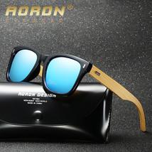 2018 Polarized Sunglasses Men Vintage Bamboo Glasses Fashion Wooden Sung...  -  29.90 e6e96e7b6b