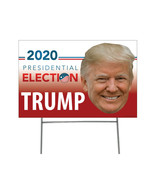 DONALD TRUMP President Outdoor Yard Sign 2020 Presidential Election Coro... - $28.71