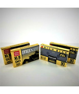 4 Maxell XLII  90 Minutes Type II High Bias Audio Cassette Tapes - New &... - $61.74