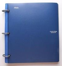 "Five Star Flex Black Blue 2 Pack 1"" Hybrid Notebinders 11 1/2 X 10 3/4 Inch NEW image 2"