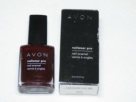 Avon Nailwear pro Uña Esmaltado N226 Pinzas 12 ML 0.4 Fl oz Pulir Mani Pedi - $10.61