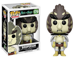 Rick and Morty TV Series Birdperson Figure Vinyl POP! Figure Toy #176 FU... - $12.55