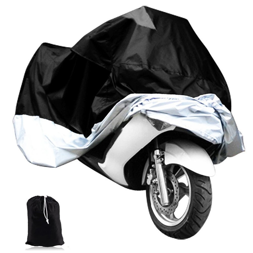 Gangxun® Motorcycle Cover Scooter Rain Cover Motorbike Waterproof Protector Fits
