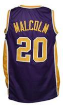 Custom Name # Denver Rockets Aba Basketball Jersey New Sewn Purple Any Size image 2