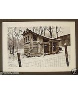"""""""The Crib"""" Vern Hippensteal 1983 Signed Retired LTD Art Print country wi... - $70.00"""