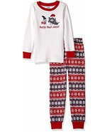 Gymboree Boys' Big Graphic Top, Striped Bottom Tight-fit Sleep, Holidays... - $13.99