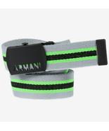 Emporio Armani Junior 401003 6A505 Belt Green Grey XS - $73.26