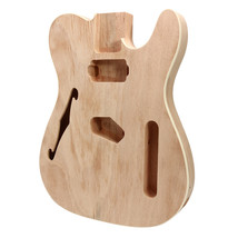 An item in the Toys & Hobbies category: DIY Electric Guitar Mahogany Wood Body Telecaster Thinline Style Body Part Singl