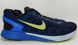 Nike LunarGlide 6 Sz 14 M (D) EU 48.5 Men's Running Shoes Volt Blue 654433-004