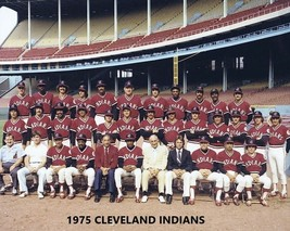 1975 CLEVELAND INDIANS 8X10 TEAM PHOTO BASEBALL PICTURE MLB - $3.95