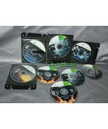 Microsoft XBox 360 Live Halo Assorted 8 Video Games 2, 3, Reach, Multipl... - $49.49