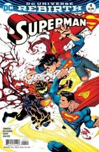 Superman #4 (Rebirth) 1st Print DC Comics  - $3.95