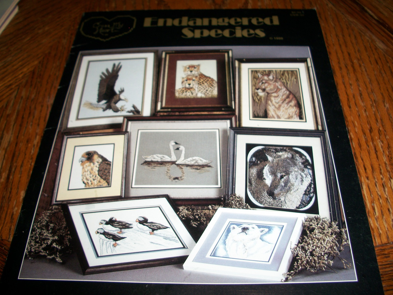 Primary image for Endangered Species Counted Cross Stitch Chart