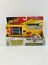 Hasbro Nerf N-Strike Maverick Rev 6 Quick Firing Blaster 6 Darts NEW - $29.99