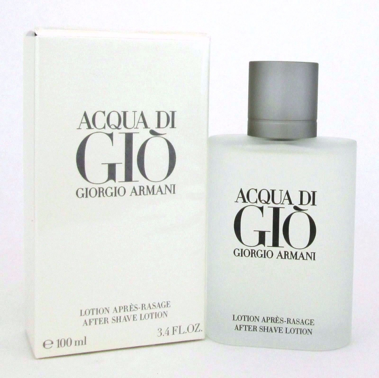 40fdd0f40f69 S l1600. S l1600. Previous. Acqua Di Gio By Giorgio Armani After Shave  Lotion Splash 3.4 Oz. Men