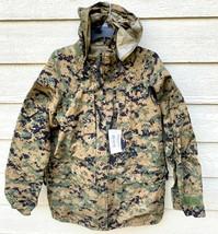 Genuine Usmc Apecs Gore Tex Digital Marpat Cold Weather Parka - Medium R... - $272.25